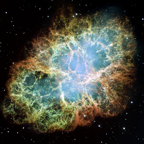 Hubble's most detailed image of the Crab Nebula